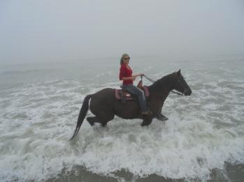 Beach Ride Christmas Day